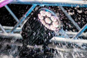 Astera AX10 SpotMax, 135W LED-lampe med 9 spots