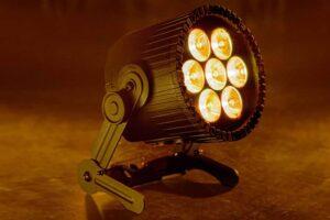 Astera AX9 PowerPAR, 105W LED-lampe med 7 spots