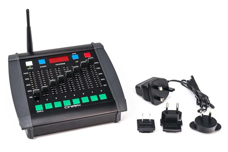 cinelex desk tx8 power