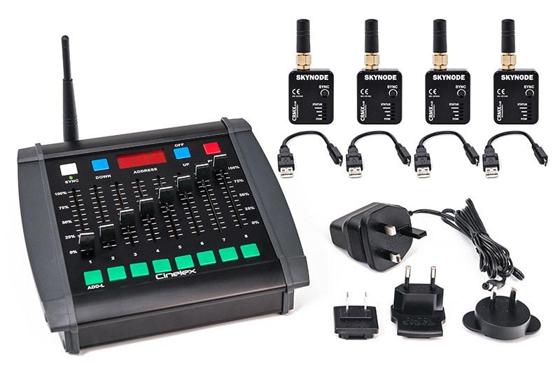 Cinelex – Wireless DMX Starter Pack