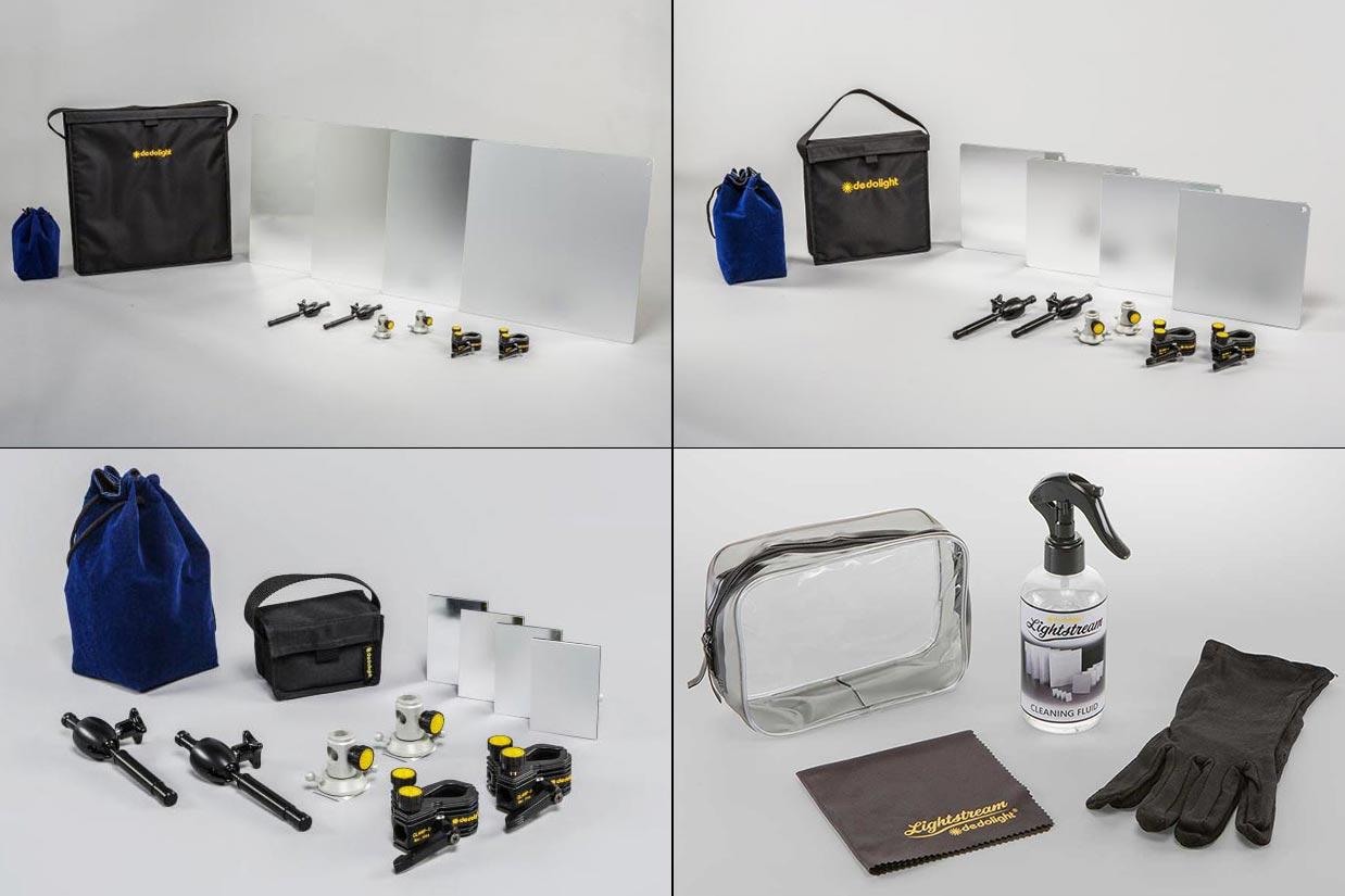 Lightstream SLRMAX Reflektor kit 7×10, 25×25, 50×50 cm med fester