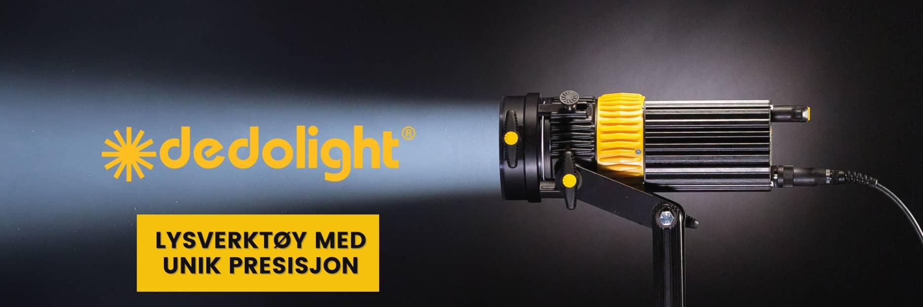 dedolight lyssetting unik presisjon