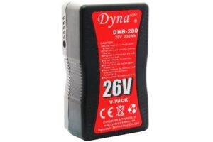 Dynacore V-Mount batteri, 26v med 230Wh kapasitet