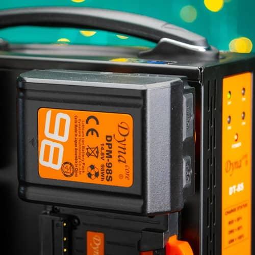 dynacore dt 8s dpm 98s batteri vmount