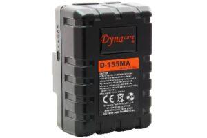 Dynacore MINI 155Wh Gold Mount batteri med D-tap & USB-utgang