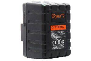 Dynacore MINI 310Wh Gold Mount batteri med D-tap & USB-utgang