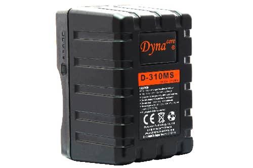 Dynacore MINI 310Wh V-Mount batteri med D-tap & USB-utgang