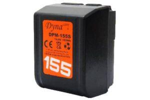 dynacore tiny vmount batteri dpm 155s
