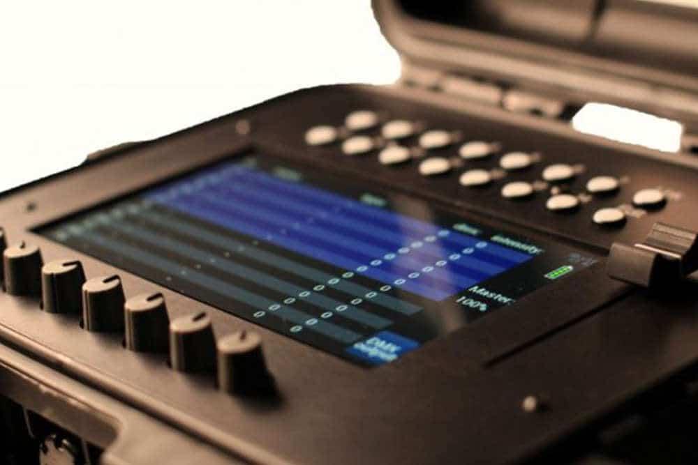 Gaffers Control trådløs DMX konsoll med touchskjerm