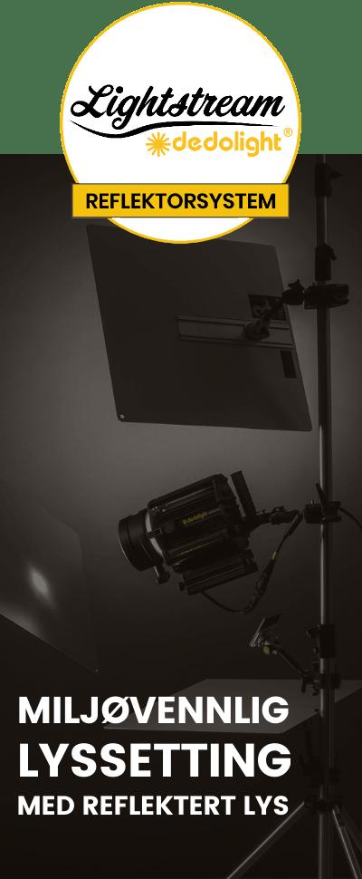 lightstream reflektorsystem miljovennlig sidebanner