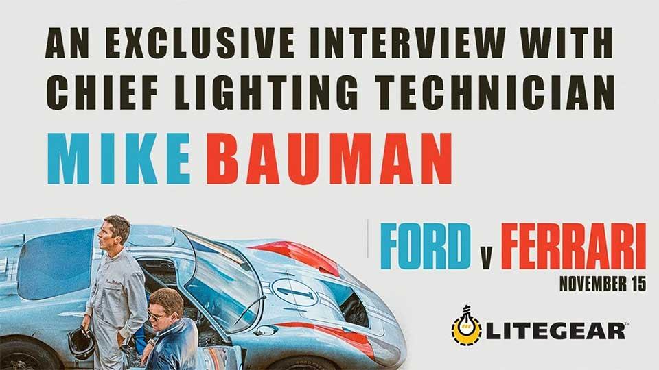 Ford v Ferrari - Unikt innblikk i filmsett fra Hollywood
