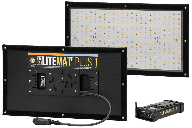 LiteMat Plus 1 kit, trådløs DMX tilgjengelig