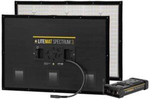LiteMat Spectrum 3 kit med trådløs DMX styring