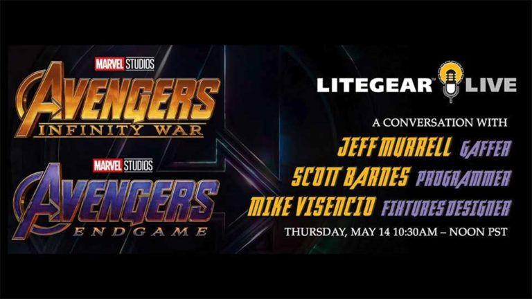 litegear live avengers marvel studios