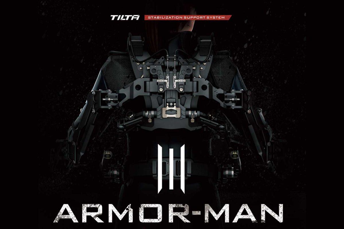 tilta armor man 3 gimbal stabilization support system for camera operators